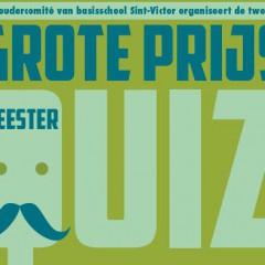 Tweede grote prijs Meester Quiz op zaterdag 21 november