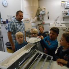 Bezoek bij bakker Dierckx