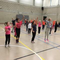 SVS danshappening 1e, 2e en 3e leerjaar
