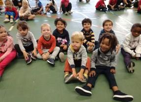 Sportdag in de kleuterschool