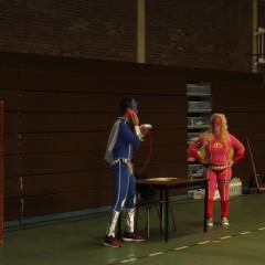 Sporten met de superhelden !