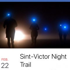 22 februari Night Trail in Sint-Victor