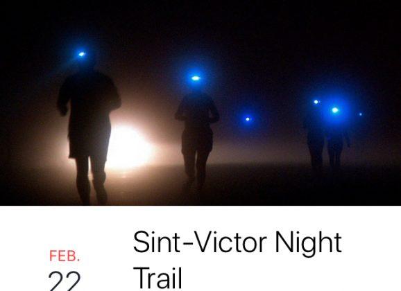 22 februari Night Trail in Sint-Victor