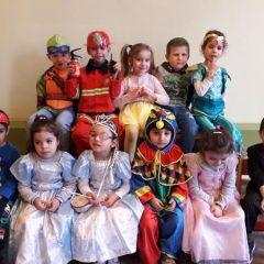 Onze ridders en prinsessen vieren carnaval