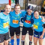 100km-run voor Kom op tegen Kanker
