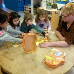 Puzzelkar in de klas