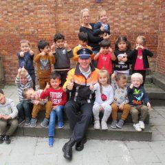 Politieman op bezoek