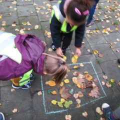 Pijlentocht reuzen – eerste leerjaar