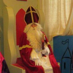 Sinterklaas op bezoek !