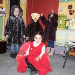 Goudlokje en de 3 beren en GROTE  – kleine beer .