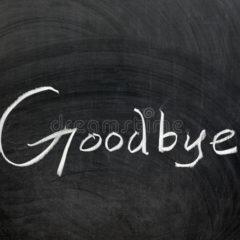Vaarwel kleuterschool!