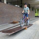 Wij leren fietsen !