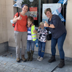 Zwerfvuil rapen op THE WORLD CLEAN UP DAY!