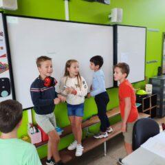 Escaperoom in het vierde leerjaar… geraakten ze uit de klas?