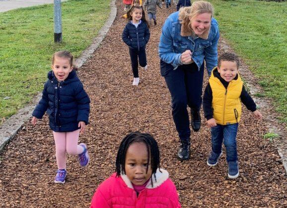 Scholenjogging Sint-Victor van 2,5 tot 12 jaar